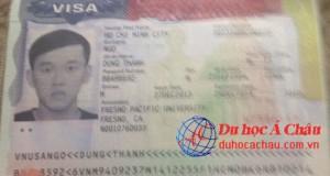 Visa du học Mỹ - Ngô Thanh Dung