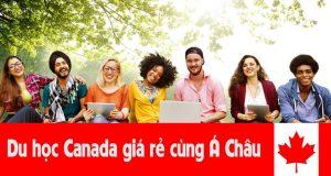 du học Canada giá rẻ, công ty Á Châu